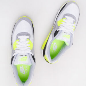 Nike Air Max 90 White/ Particle Grey - Volt - Black | Nikeboty.cz