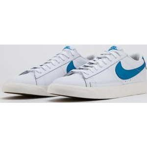 Nike Blazer Low Leather white / laser blue - sail EUR 46 - Nikeboty.cz